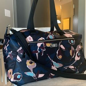 Beautiful kate spade large nylon travel duffle bag
